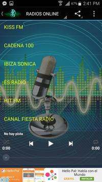 Radios FM de España Online apk screenshot