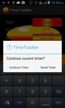 Time Tracker w/ Timer apk screenshot