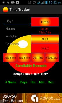 Time Tracker w/ Timer poster