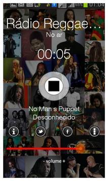 Rádio Reggae Rasta-DF apk screenshot
