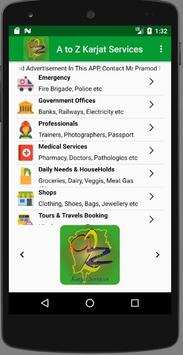 A TO Z KARJAT SERVICES apk screenshot