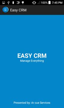 Easy CRM poster