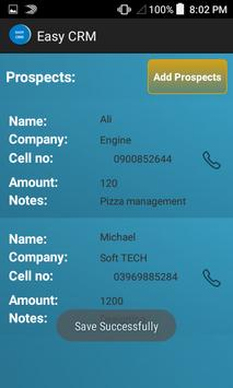 Easy CRM apk screenshot