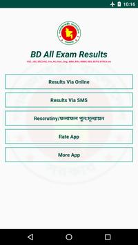 BD Exam Results poster
