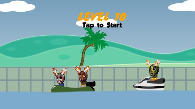 Raft Battle Gun - Baby Wars screenshot 2