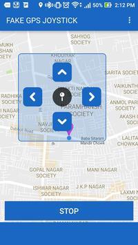 Fake GPS Joystick screenshot 2