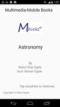 MBook: Astronomy poster