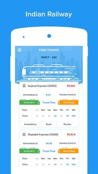 Indian Railways Enquiry IRCTC - Train PNR Status apk screenshot