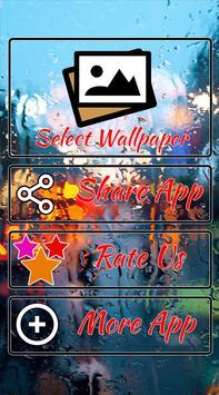 Rain Wallpaper : 4K Wallpaper poster
