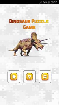 Dinosaur Puzzle Game poster