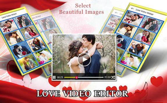 Love Video Editor With Music poster