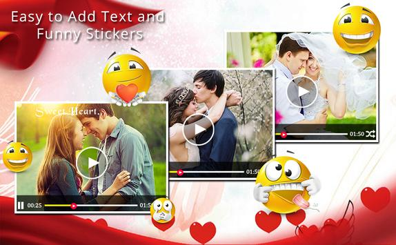 Love Video Editor With Music apk screenshot