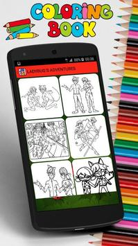Coloring Pages for Ladybug screenshot 5