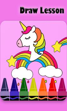 Coloring Pages for Pony unicorn apk screenshot