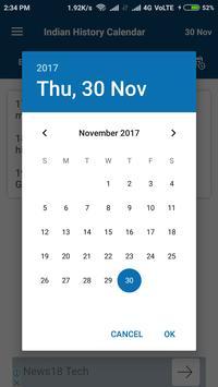 Indian History Calendar screenshot 1