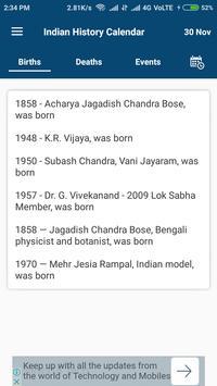 Indian History Calendar screenshot 2