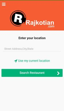 Rajkotian - Food Delivery screenshot 1