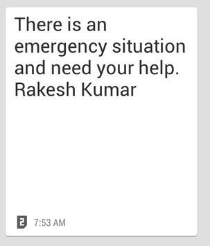 Emergency Alert Lite apk screenshot