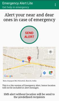 Emergency Alert Lite poster