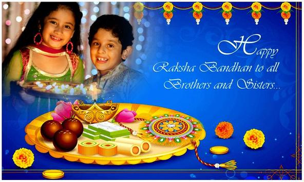 Rakhi Photo Frame : Raksha Bandhan Frames poster