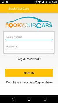 Bookyourcars screenshot 1