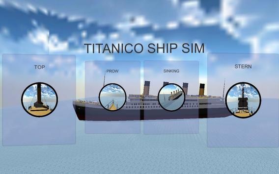 Titanico Ship Sim poster