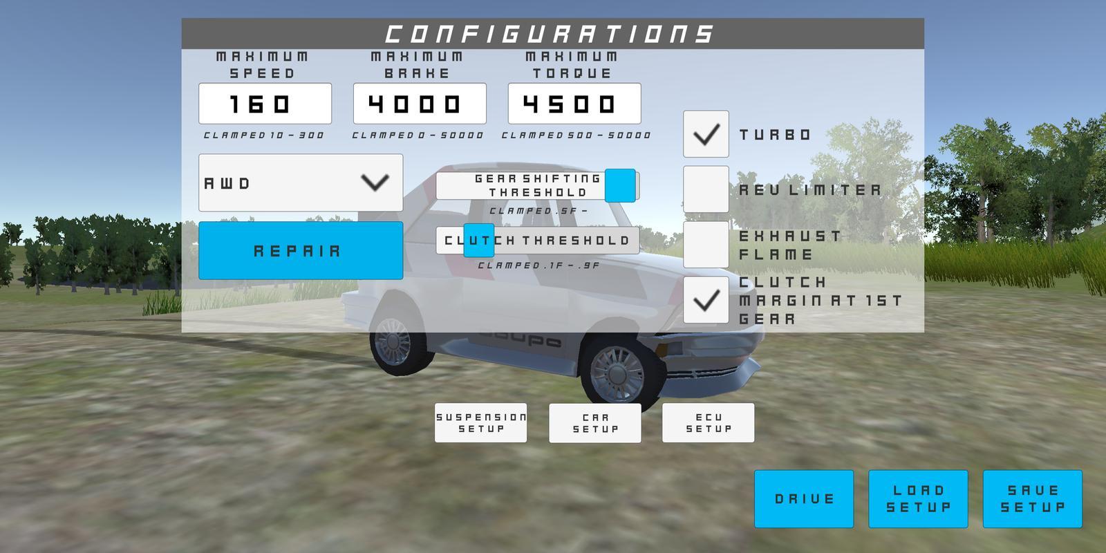 ... Rally Car - Dirt Playground screenshot 3 ...