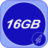 16 GB RAM cleaner master Booster pro 2018 icon