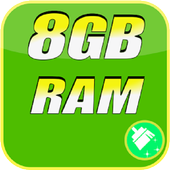 8GB Ram  Booster Cleaner Pro 2018 icon