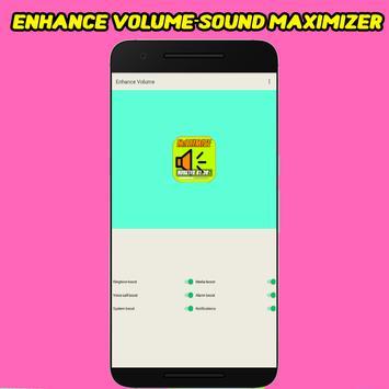 Enhance Volume - Sound Maximizer poster