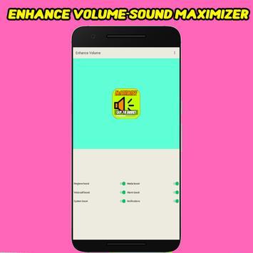 Enhance Volume - Sound Maximizer screenshot 1
