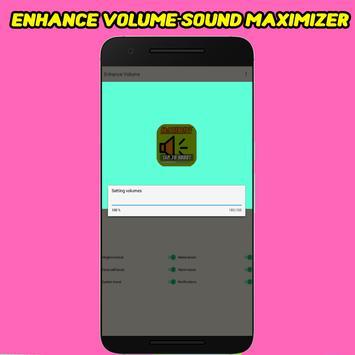 Enhance Volume - Sound Maximizer screenshot 2