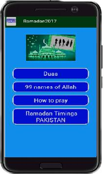 Duas Collection: Ramazan 2017 apk screenshot