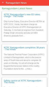 Ramagundam News apk screenshot