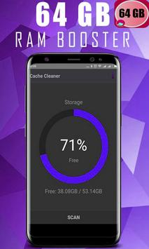 64 GB RAM BOOSTER SPEED & FREE screenshot 4