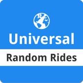 Random Rides: Universal icon
