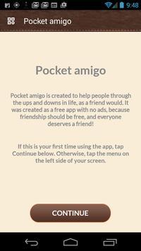 Pocket Amigo apk screenshot