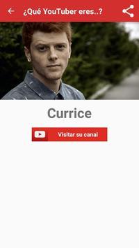 ¿Qué YouTuber eres? apk screenshot
