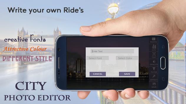 City Photo Editor screenshot 2
