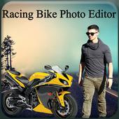 Racing Bike Photo Editor icon