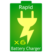 Rapid Battery Charger x6 icon