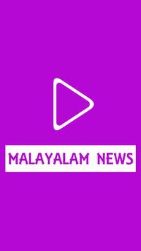 Live Malayalam Tv News poster
