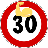 Intense 30 day Fit Challenge icon