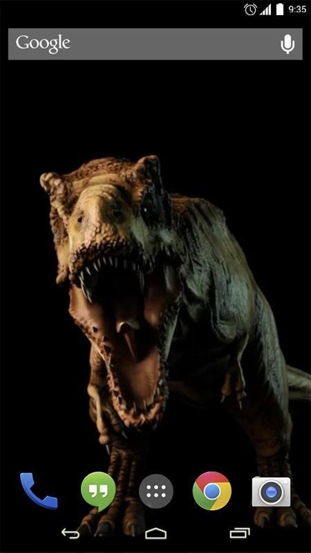 Raptor Dinosaur Live Wallpaper Poster