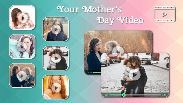 Mother's Day Video Maker poster