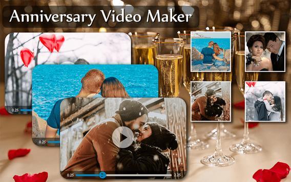 Anniversary Photo Video Maker poster