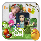 Easter HD Video Maker icon