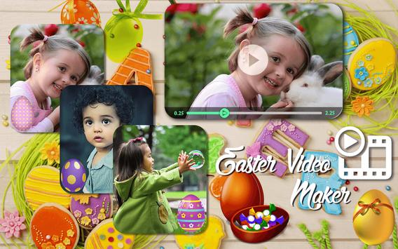 Easter HD Video Maker poster