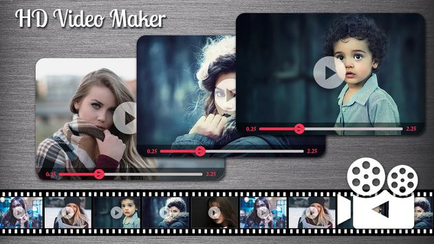 HD Video Maker With Music : Love Slideshow Video poster