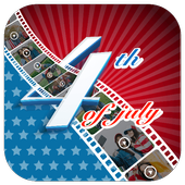 4th Of July Video Maker icon